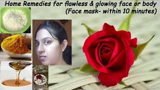 Got Glowing & Whitening Skin just in 10 minutes for Flawless Bridal Skin (100% Tested)