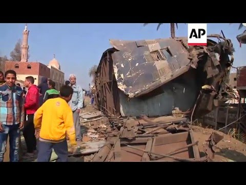 Egypt - At Least 69 Injured In Train Derailment | Editor's Pick | 11 Feb 16