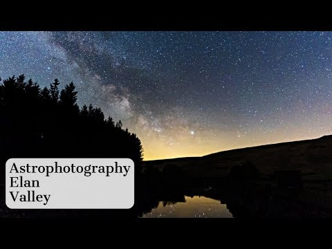 Shooting the Milky Way in Elan Valley | Astrophotography Vlog