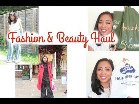 Clothing & Beauty Haul |Shein, Boots, Harrods, Harvey nichols