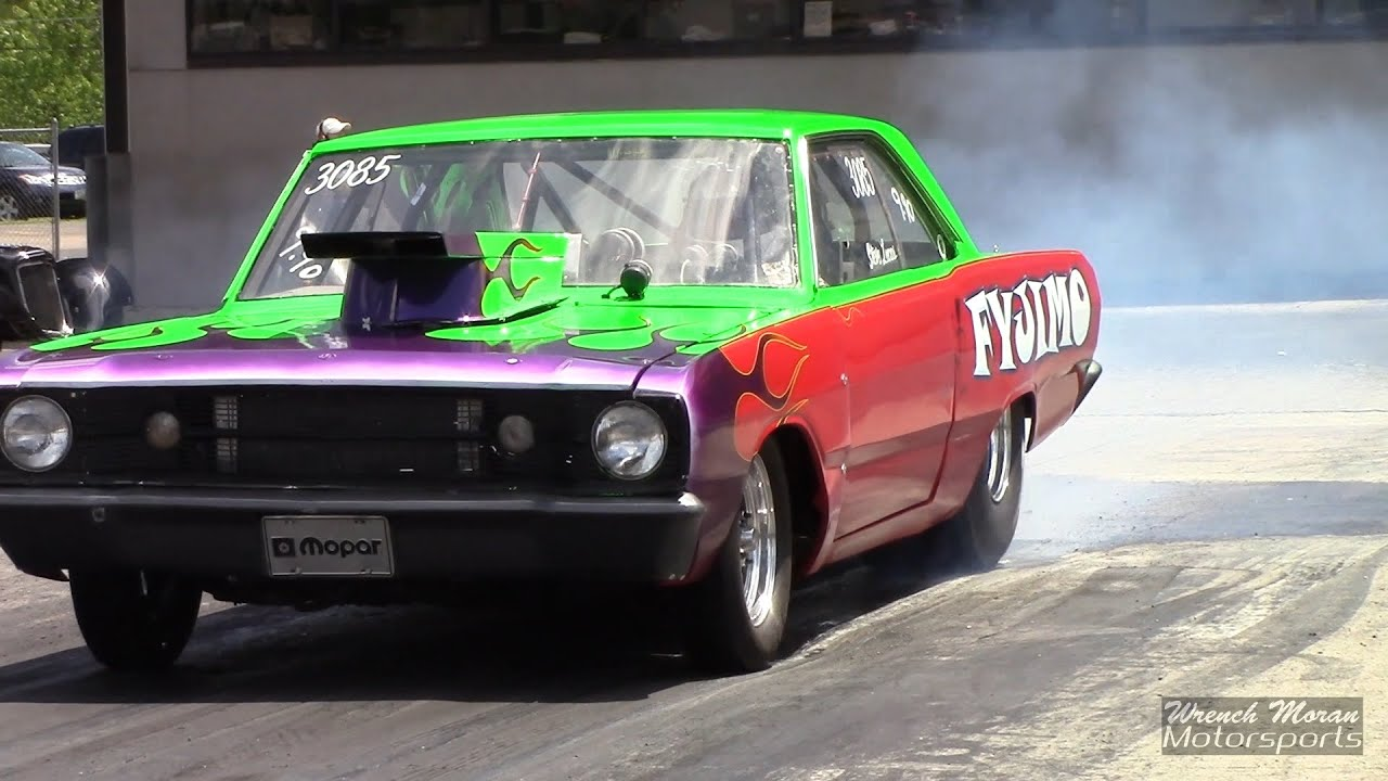 1968 Dodge Dart FYJIMO Drag Racing - YouTube