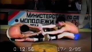 Чемпионат Республики Саха (Якутия) по перетягиванию палки в г. Якутске в 1995 год
