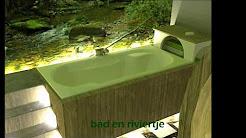 bathroom design: rainforest