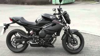 yamaha xj6 model 2013 abs walkaround soundcheck hd