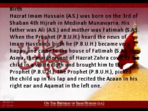 Brief History of Imam Hussain (A.S) Part 1