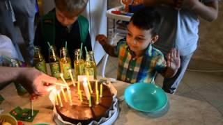 День рождение Тиграна - черепашки ниндзя - Батутный центр