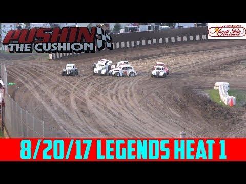 Angell Park Speedway - 8/20/17 - Legends - Heat 1