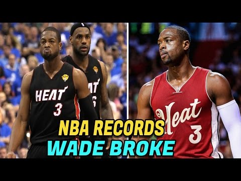 6 NBA Records Dwyane Wade Has Broken! Crazy NBA Records NBA Fans Must Know!