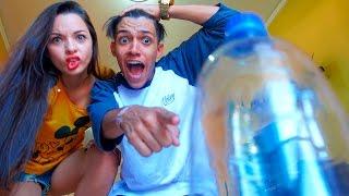 O MELHOR DESAFIO DA GARRAFA | André Victor [Water Bottle Challenge]