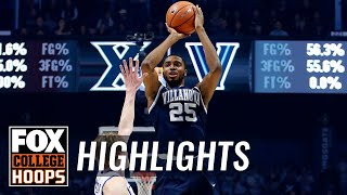 Villanova vs Xavier | Highlights | FOX COLLEGE HOOPS