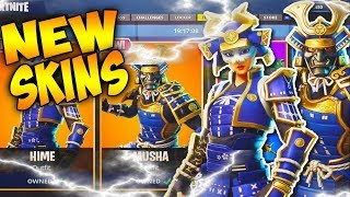 🔥NEW SAMURAI SKIN BEST SKIN IN GAME HIME🤯(Fortnite Battle Royal