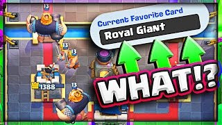 ROYAL GIANT = MY FAVORITE CARD!?
