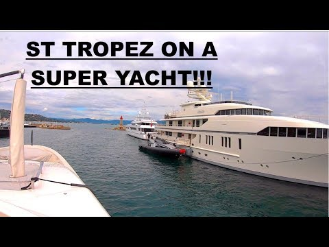Leaving St Tropez On A Luxury Yacht (Captain's Vlog 75)