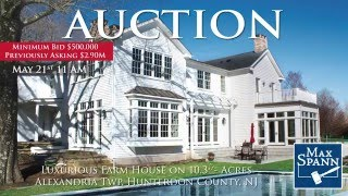 Alexandria NJ Real Estate Auction
