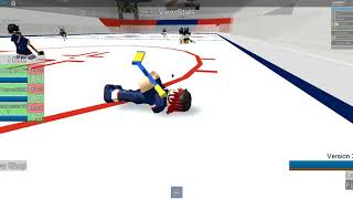 ROBLOX Hockey (NHL) - USA vs. Germany Overtime