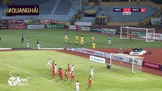 Hai tình huống ghi bàn giống nhau đến kỳ lạ của Quang Hải tại V.League và AFF Cup 2018   VPF Media