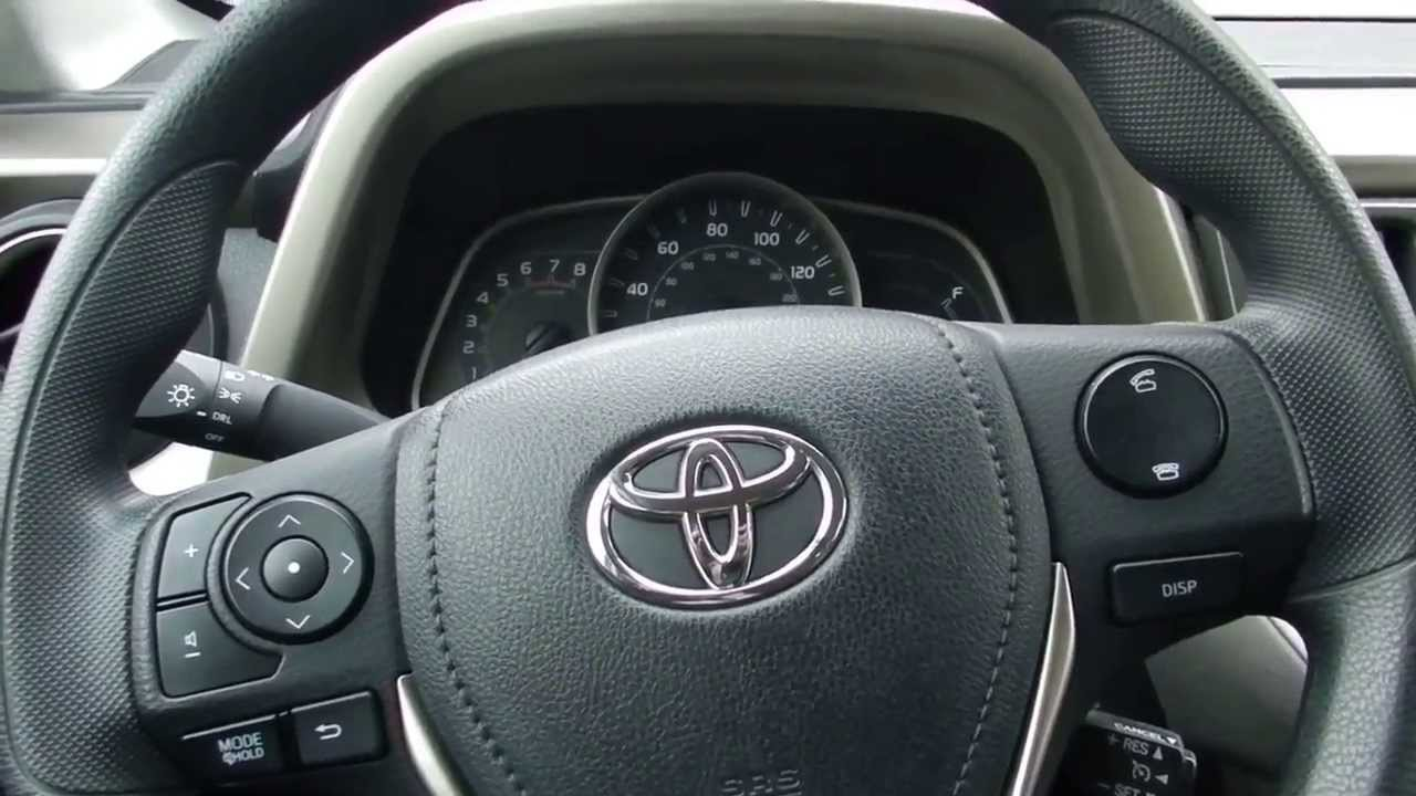 Toyota toyota rav 2013 : 2013 Toyota Rav 4 LE Interior Review - YouTube