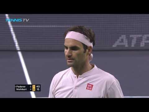 Roger Federer's backhand masterclass v Kei Nishikori | Shanghai 2018