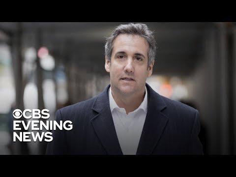 "Michael Cohen postpones testimony, citing ""threats"" by Trump"