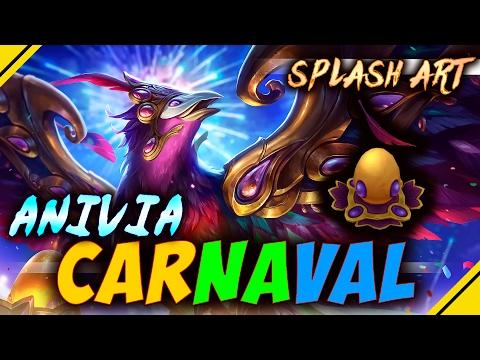 Splash ART, HUEVO y MÁS de Anivia CARNAVAL - Nueva Skin | Noticias League Of Legends LOL