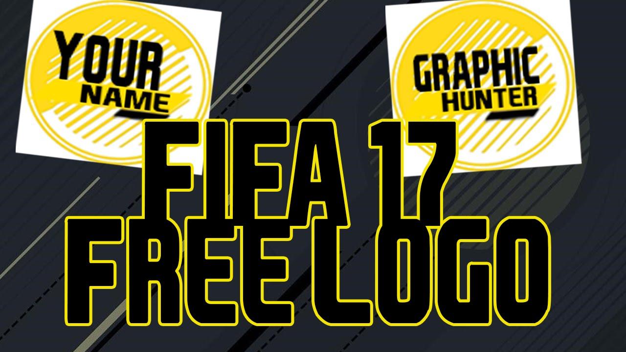 free fifa 17 youtube logo template download tuturiol. Black Bedroom Furniture Sets. Home Design Ideas