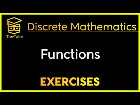 [Discrete Math 1] Functions Examples