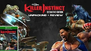 Killer Instinct Definitive Edition unpacking + review