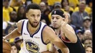 Golden State Warriors vs Portland Trailblazers_Game 1_NBA Playoffs 15 May 2019