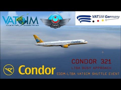 VATSIM Crowded Airspace over Istanbul!!||VATSIM EDDM-LTBA SHUTTLE||CFG321||QW752