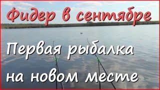 Рыбалка на фидер осенью в Краснодарском Крае