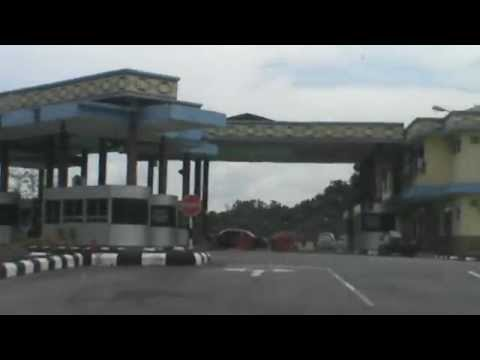 Driving from Sipitang, Sabah to Sarawak-Brunei border.(On my way to Lawas)-Part 4