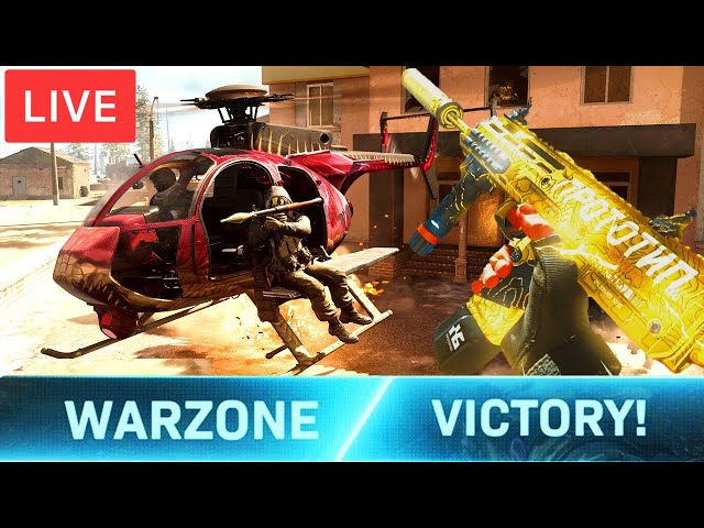 Call of Duty Warzone WINS Live - BEST AR Canted Hybrid KILO has NO RECOIL!