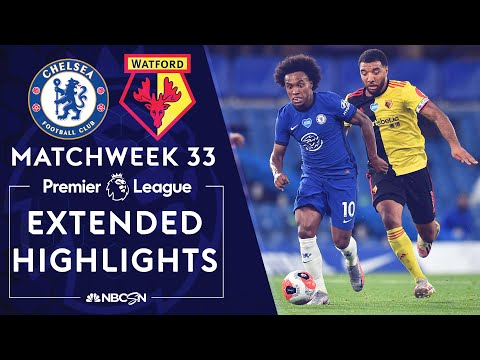 Chelsea v. Watford | PREMIER LEAGUE HIGHLIGHTS | 7/4/2020 | NBC Sports