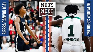 The Patrick School (NJ) vs Sierra Canyon (CA) - Clash of Champions ESPN Broadcast Highlights