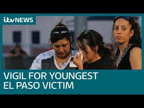 Youngest victim of El Paso massacre mourned at school vigil | ITV News