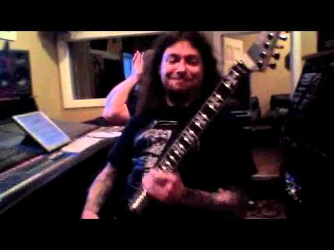 Goatwhore records at Mana Studios part 2