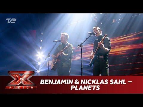 Benjamin & Nicklas Sahl synger 'Planets' - Nicklas Sahl (Live)   X Factor 2019   TV 2