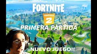 MI PRIMERA PARTIDA EN FORTNITE *CAPÍTULO 2* (SE ME BUGUEA EN EL AGUA)