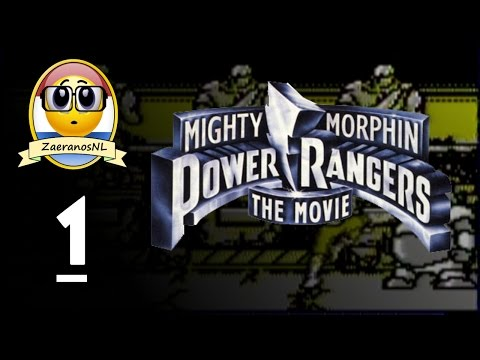 Mighty Morphin Power Rangers The Movie #1 Aisha Tegen Mordant [Game Boy]