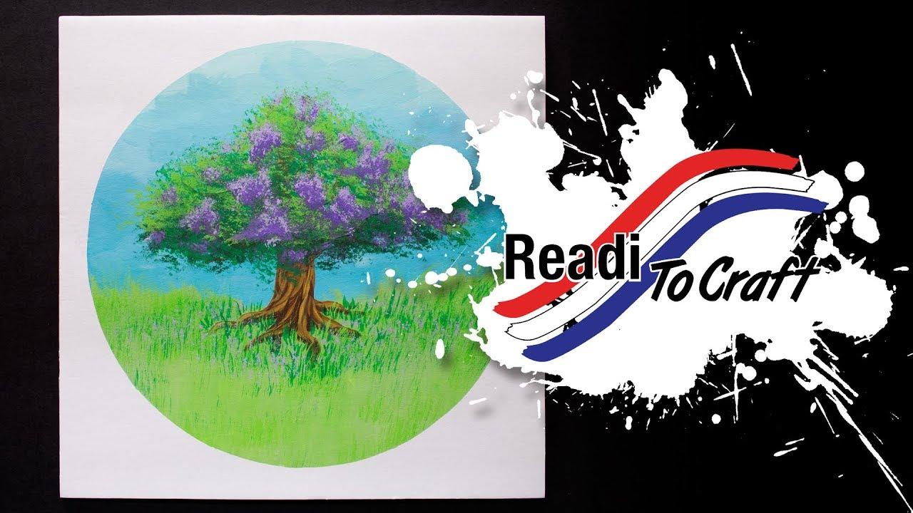 Readi to Craft: Tree Painting