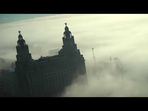 LIVERPOOL WATERFRONT | AMAZING FOG FOOTAGE AND TIME LAPSE