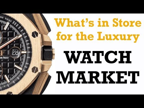 What's Happening To The Luxury Watch Market During A Time Of Crisis? Rolex, Omega, Audemars