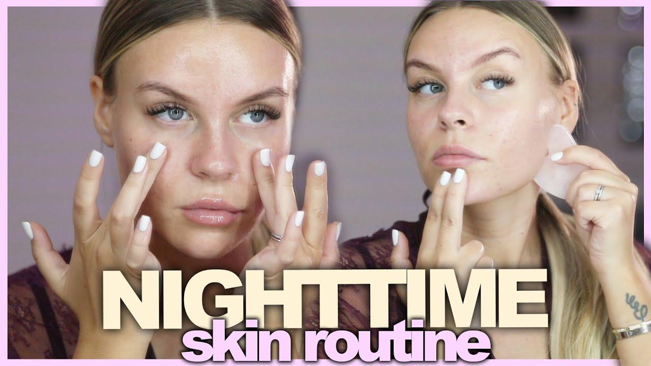 Meine aktuelle NIGHTTIME Skin Routine 🧖🏼♀️ | Dagi
