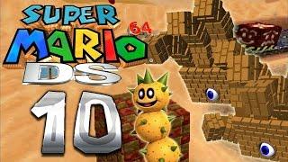 Let's Play SUPER MARIO 64 DS Part 10: Mützen-Klau in der Wobiwaba Wüste thumbnail
