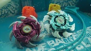 Beyblade Knockoff! Daiso Japan SPIN HEAT Enhanced Plastic Generation Beyblades - SHURIKEN BLADES?