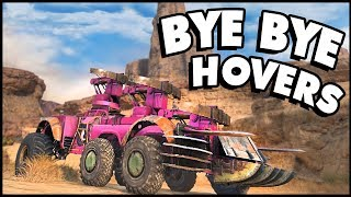 Crossout - HOW TO EASILY DESTROY HOVER BUILDS IN THREE EASY STEPS! (Crossout Gameplay)