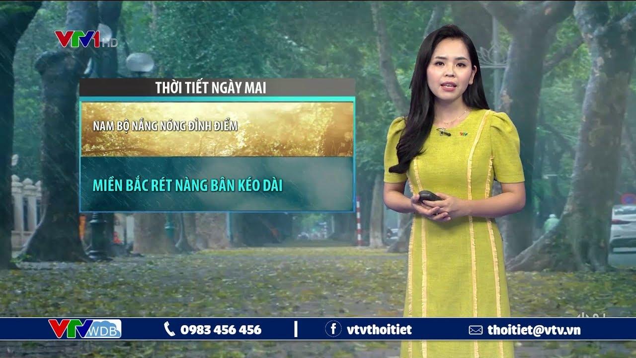 Bản tin thời tiết 19h45 – 4/4/2020 | Nam Bộ nắng nóng đỉnh điểm, Miền Bắc rét nàng bân kéo dài