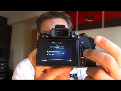 Olympus OM-E-M1 - My Tutorial with Tipps & Tricks (English Version)