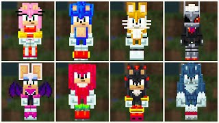 Minecraft Sonic The Hedgehog DLC Available Now!