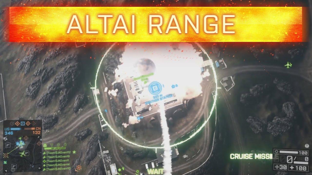 Bf4 Altai Range China Rising Gameplay H6 Bomber Cruise